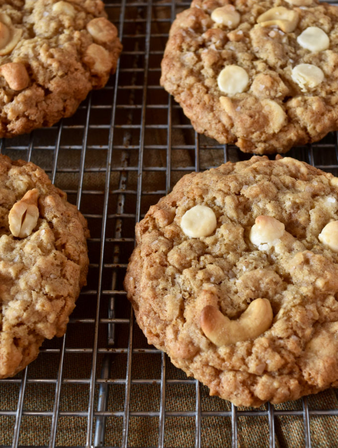 Sweet and Salty Oatmeal Cookies